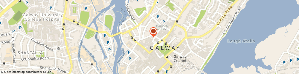 Route/map/directions to Zenith Hairdressing T/A The Golden Scissors Co. Ltd, H91 Galway, 33 Eyre Street