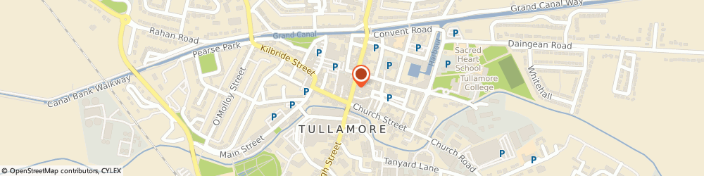 Route/map/directions to Ritzys Hair Salon,  Offaly, WILLIAM STREET TULLAMORE