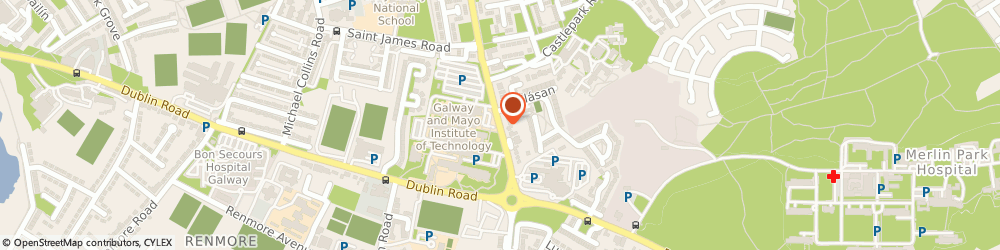 Route/map/directions to Outback Jacks,  Galway City, Ballybane