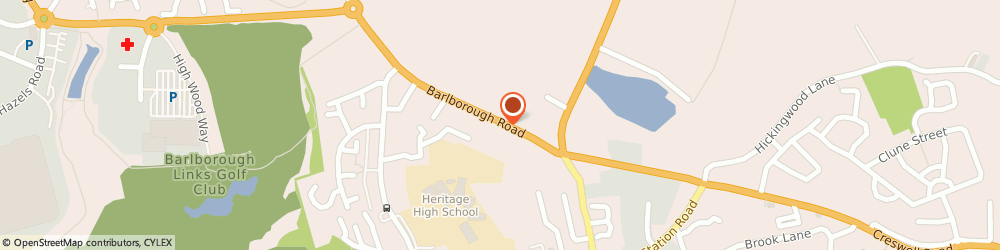 Route/map/directions to Clowne Landscaping Centre Ltd, S43 4QX Chesterfield, 67b Barlborough Rd