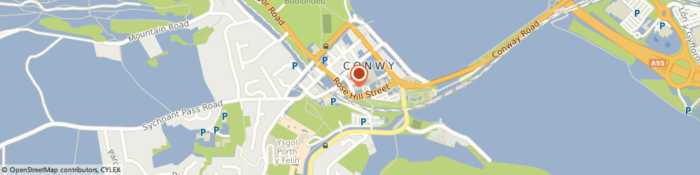 Route/map/directions to Conwy Comrades Sports & Social Club, LL32 8AF Conwy, 8 Church St