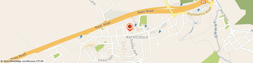 Route/map/directions to Acorn Park Co Ltd,  Rathcoole, MAIN STREET