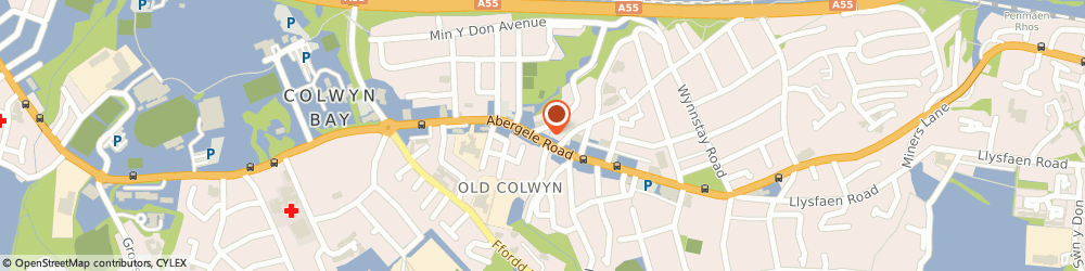 Route/map/directions to COLWYN SPICE HUT LIMITED, LL29 9PL Old Colwyn, 361 ABERGELE ROAD