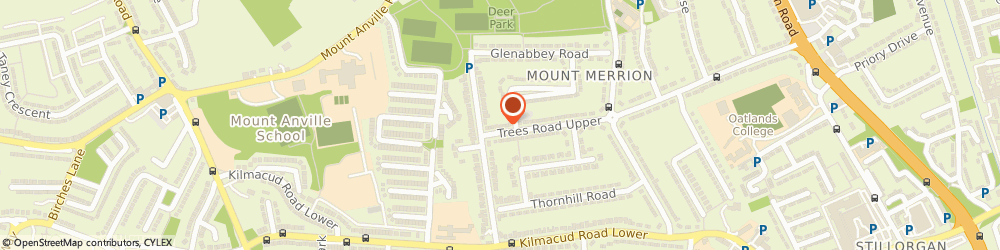 Route/map/directions to Gara Ireland Limited,  Mount Merrion, 105 TREES RD