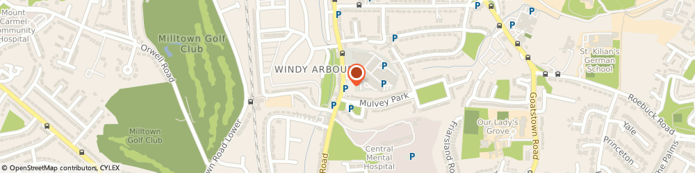 Route/map/directions to NETWORK PHARMACY LIMITED, D14 Dublin, 7 Arbourfield Terrace, Windy Arbour, Dundrum