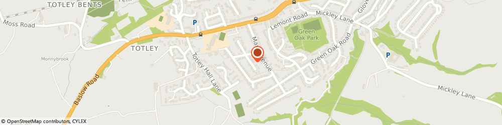 Route/map/directions to Miss Anna Wilkinson Sheffield, S17 4FE Sheffield, MORE REHAB, 45 MEADOW GROVE