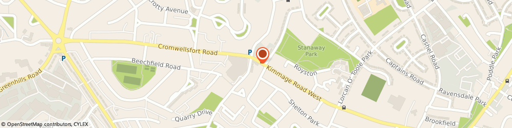 Route/map/directions to McNally Opticians,  Dublin, 185 KIMMAGE ROAD WEST 12