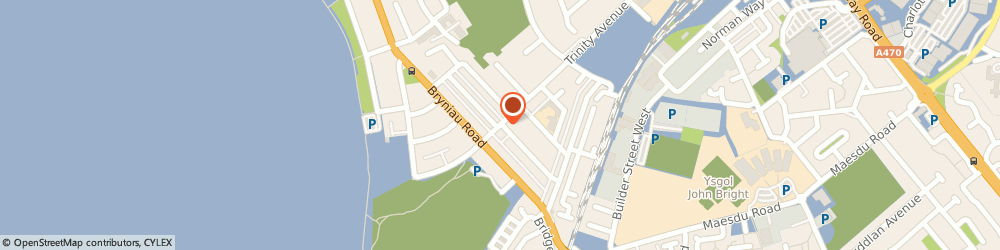 Route/map/directions to A&J Tax Solutions Limited, LL30 2UZ Llandudno, 131 TRINITY AVENUE