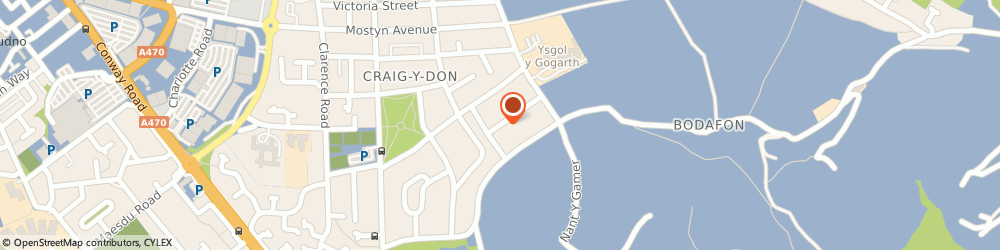 Route/map/directions to Trevor Young School of Motoring, LL30 1YD Llandudno, 6, ST. MARGARETS DRIVE