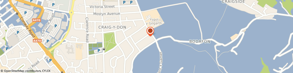 Route/map/directions to Alan J Gibbons, LL30 1YD Llandudno, 24 St. Margarets Drive