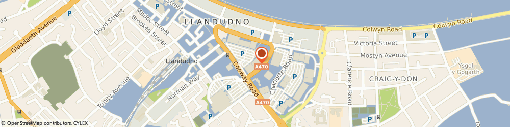 Route/map/directions to TUI Holiday Superstore, LL30 1PJ Llandudno, Tudor Crescent