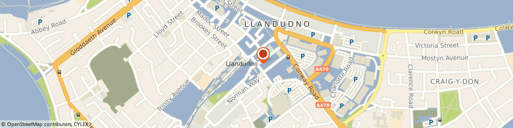 Route/map/directions to NO4A, LL30 1DH Llandudno, 4a Oxford Rd