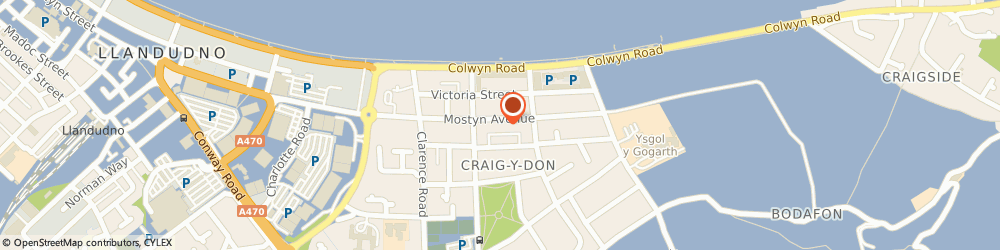 Route/map/directions to Tops Chinese Restaurant, LL30 1YY Llandudno, 43 Mostyn Avenue