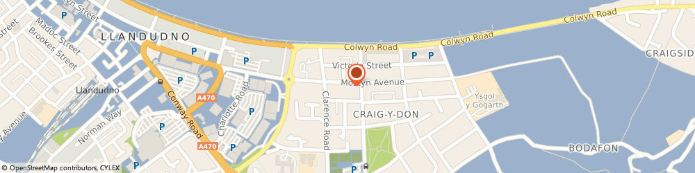 Route/map/directions to Full House, LL30 1YS Llandudno, 25 Mostyn Ave