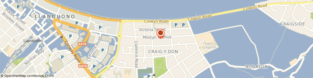 Route/map/directions to The Ascot Tapproom, LL30 1YU Llandudno, Mostyn Ave, 3 Victoria Buildings