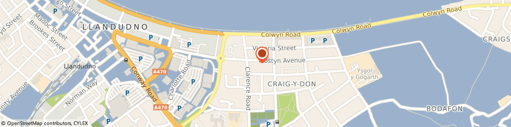 Route/map/directions to Cater Veterinary Practice, LL30 1YS Llandudno, 9 Mostyn Ave