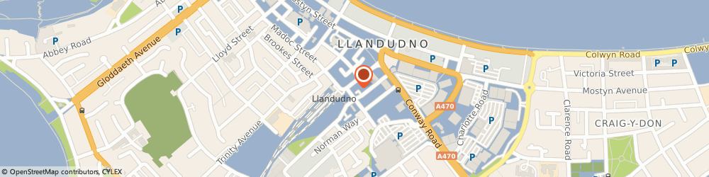 Route/map/directions to Inglenook, LL30 1AB Llandudno, 2 Vaughan St