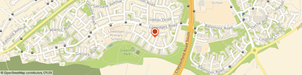 Route/map/directions to Divine Landscaping, S8 7LQ Sheffield, 112 Lowedges Cres
