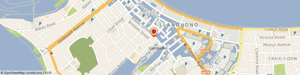 Route/map/directions to Samson Domestic Appliance Centre, LL30 2NQ Llandudno, 8 TRINITY AV