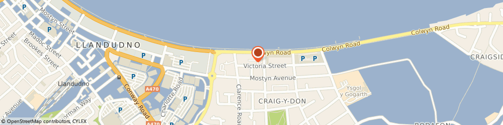 Route/map/directions to EMELONYE CONSULTING LIMITED, LL30 1LQ Llandudno, 41 Victoria Street