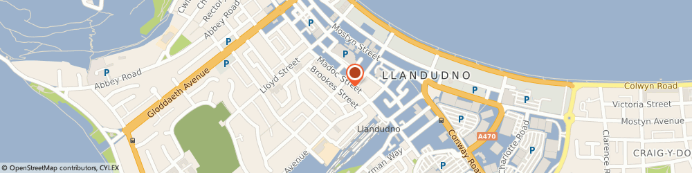 Route/map/directions to Alliance Taxis, LL30 2AD Llandudno, 2 Augusta Street