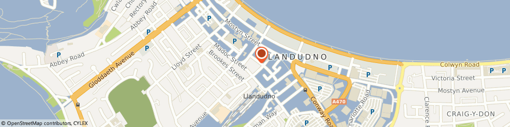 Route/map/directions to GAMLINS SOLICITORS LLP, LL30 2RB Llandudno, 14/15 Trinity Square
