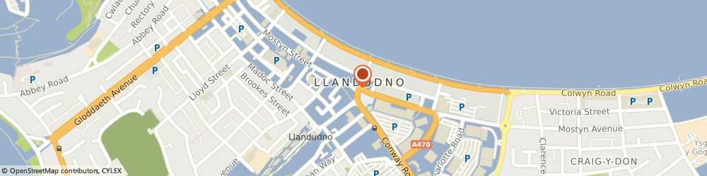 Route/map/directions to Gareth Roberts Opticians, LL30 2PD Llandudno, 111 Mostyn St