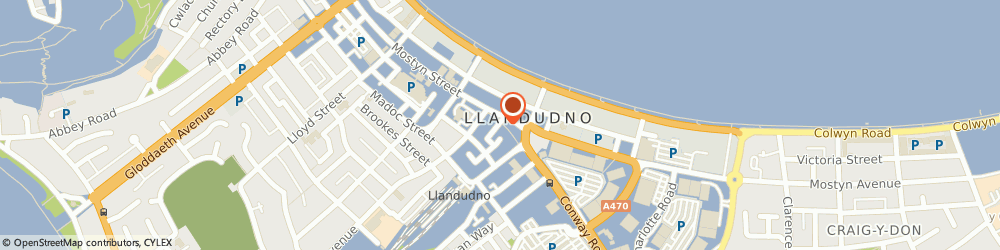 Route/map/directions to The Kitchen Range, LL30 2PS Llandudno, 10A Mostyn St