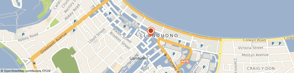 Route/map/directions to Clothes for Work, LL30 2PY Llandudno, Ferndale House, 2, Trinity Square