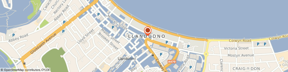 Route/map/directions to Nationwide Building Society, LL30 2NS Llandudno, 5 Mostyn Street