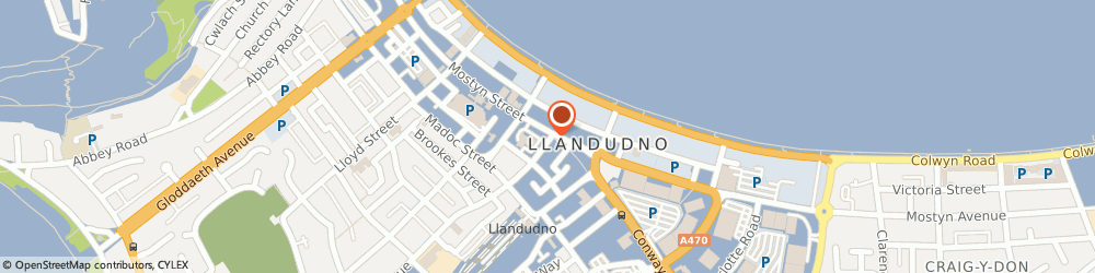 Route/map/directions to A Z H Associates, LL30 2PY Llandudno, 1 TRINITY SQUARE