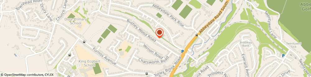 Route/map/directions to A A Maule, S17 3QB Sheffield, 44 BUSHEY WOOD RD