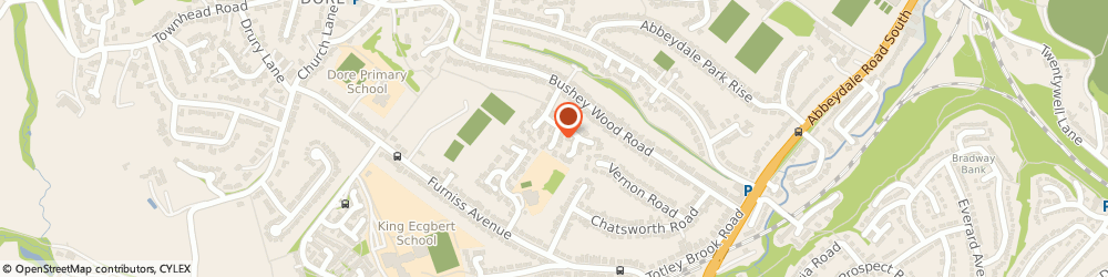 Route/map/directions to M A Batty / Bespoke Joinery, Cabinets and Furniture, S17 3pr Sheffield, 2 Wyvern Gardens