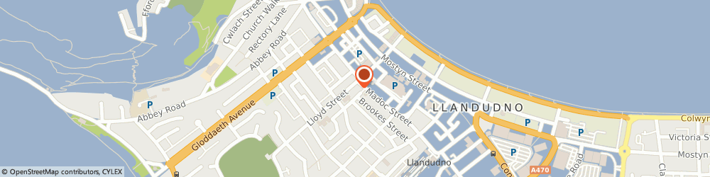 Route/map/directions to Mr Francis Job The Osteopathic Clinic, LL30 2YA Llandudno, 29 Lloyd Street