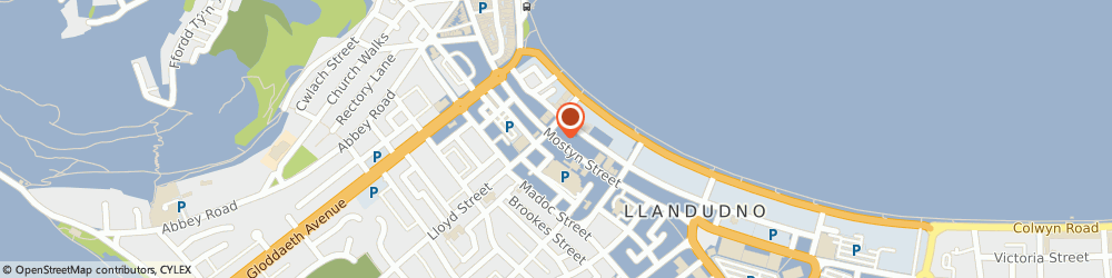 Route/map/directions to National Milk Bars, LL30 2RP Llandudno, 56 Mostyn St