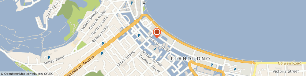 Route/map/directions to Clares Department Store, LL30 2PD Llandudno, 97-99 Mostyn Street