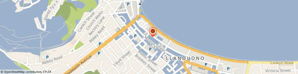 Route/map/directions to St. George's Plaice, LL30 2NR Llandudno, 3 St George's Pl
