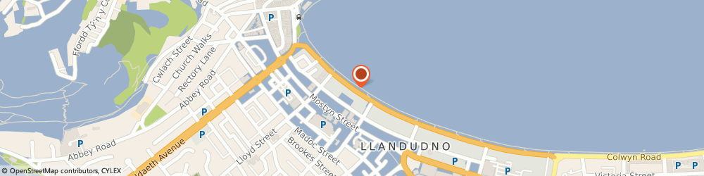 Route/map/directions to Somerset Hotel, LL30 2LF Llandudno, St. George's Crescent