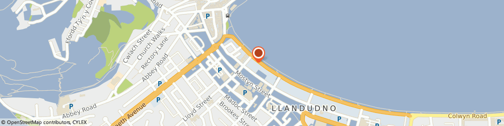 Route/map/directions to St Georges Hotel, LL30 2LG Llandudno, St George's Place