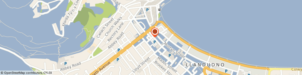 Route/map/directions to The Cottage Loaf, LL30 2SR Llandudno, 2 Market Street