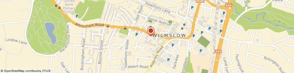 Route/map/directions to Citation PLC, SK9 5AR Wilmslow, Kings Court, 30 Water Ln