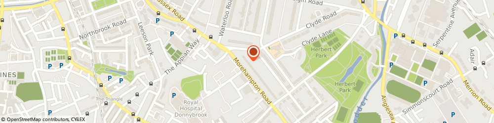 Route/map/directions to Excellence Medical Cosmetic Clinic Dublin,  Dublin, 12 Morehampton Road
