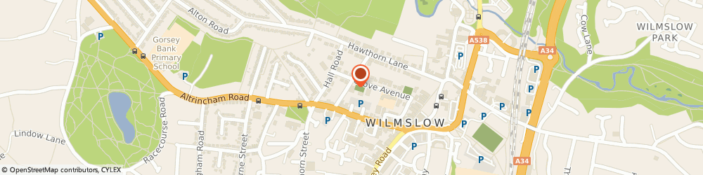 Route/map/directions to MPEX Direct, SK9 5EQ Wilmslow, The Old Workshop, 12B Kennerleys Lane
