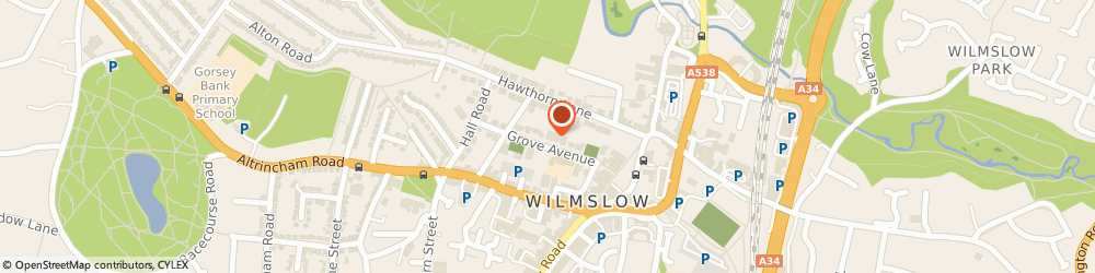 Route/map/directions to Wilmslow British Legion, SK9 5EG Wilmslow, 10 Grove Ave