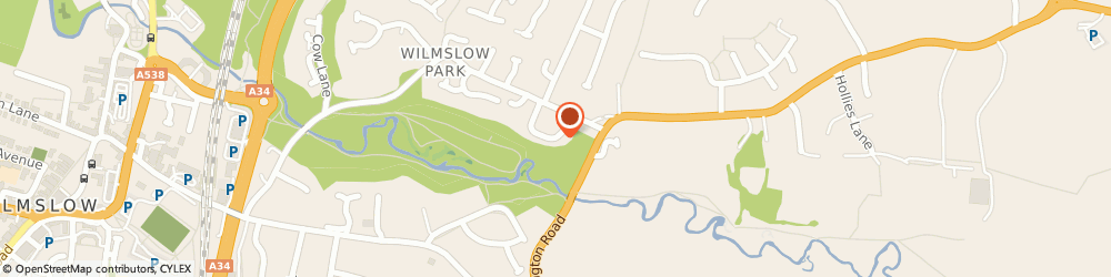 Route/map/directions to BCJ AUTOMOTIVE LIMITED, SK9 2BQ Wilmslow, 20 Fawns Keep