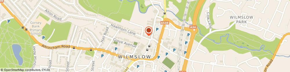 Route/map/directions to Wilmslow Wealth Management Ltd, SK9 5EG Wilmslow, Cypress House, 3 Grove Avenue