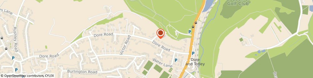 Route/map/directions to Dore Physiotherapy Practice, S17 3NB Sheffield, 56A Dore Rd