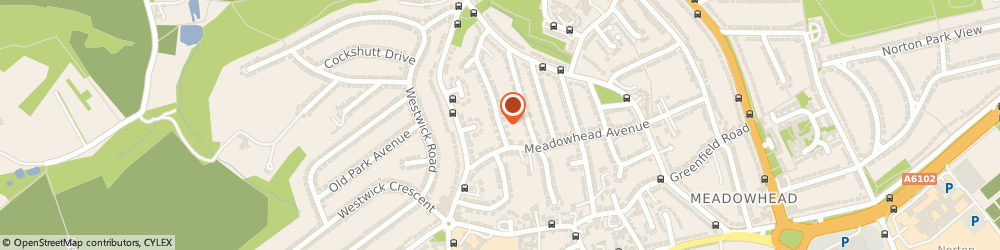 Route/map/directions to Rgj Plumbing & Heating, S8 7SH Sheffield, 44 Downing Road,
