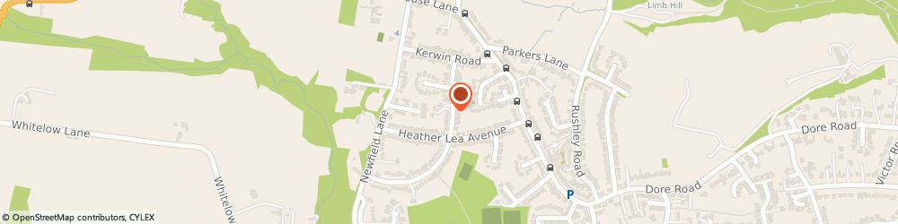 Route/map/directions to CODERS ON CAFFEINE LTD., S17 3DG Sheffield, 26 Kerwin Drive