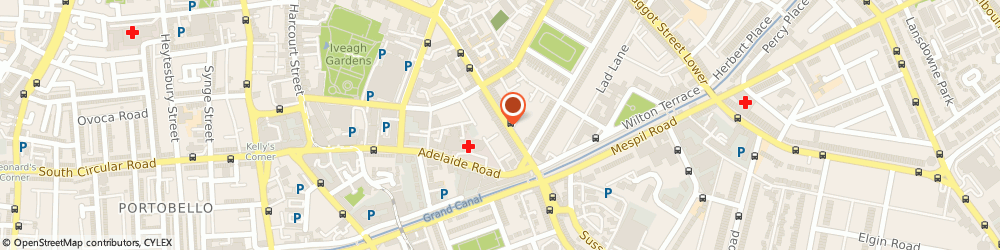 Route/map/directions to c O I Records,  Dublin, 38 LEESON ST LWR
